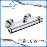 O bronze do chuveiro do banheiro cromado Anti-Escalda a torneira termostática (AF4131-7)