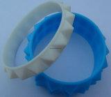 L'OEM d'usine conçoivent le bracelet en fonction du client de silicium pour le cadeau de promotion