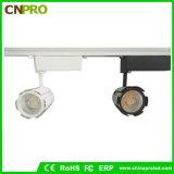 Luz negra blanca de la pista de la luz de techo del proyector de la MAZORCA de la cubierta 30W LED