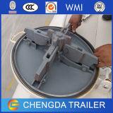 36 Cbm 방탄호 유조선 송풍기 건조한 대량 유조선 트레일러 판매