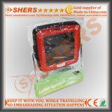Перезаряжаемые миниый солнечный приведенный в действие фонарик 4 SMD СИД сь