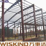 Edificio soldado con autógena calibrador ligero del metal del marco de la estructura de acero de H