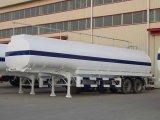 45000L drie de Tanker van de Brandstof van het Koolstofstaal van de As