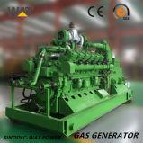 セリウム、ISOの承認が付いている190の直巻き発電機のBiogasの発電機セット500kw