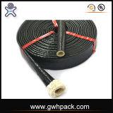 Incêndio - fibra de vidro retardadora do silicone que Sleeving para fundições de aço