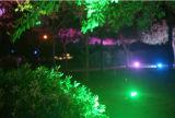 Luz de inundación al aire libre de la MAZORCA LED de IP65 100W Epistar con Ce