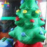 巨大なイベントのLEDライトが付いている屋内屋外の膨脹可能なクリスマスツリー