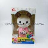 Envase de plástico PVC de la caja de regalo del producto de Juguetes