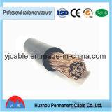 Bainha flexível do cabo Rubber/PVC do cabo da soldadura do cabo de Yhf da porta de Ningbo