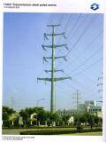 aço dobro Pólo da energia eléctrica do circuito 110kv