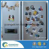 Magnete di legno del frigorifero del ferrito della fonte tipografica della lettera
