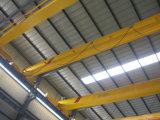 Grúa de arriba del EOT viga eléctrica pendiente teledirigida sin hilos del alzamiento que viaja de la sola 5 toneladas