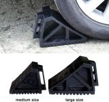 Coche del caucho de la rueda tapón, al por mayor de goma de la rueda Chock