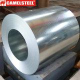 O revestimento de zinco da qualidade de Commerical galvanizou a bobina de aço
