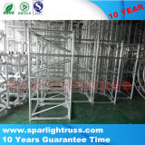 Truss de aluminio plegable del andamio para la venta