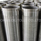 Tubulação redonda da tela do aço inoxidável para filtrar