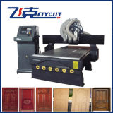 Vácuo Inhaling Table Wood Carving e Cutting Machine para Door Processing