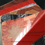 Rivestimento per pavimenti del PVC della protezione del feltro con la protezione di colore rosso