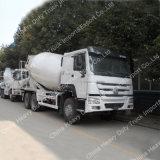 HOWOのブランド12cbm 3の車軸6X4具体的なミキサーのトラック