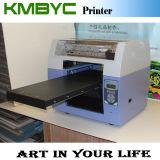Máquina de impressão Flatbed UV A3 do diodo emissor de luz da tinta branca