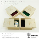 Hongdao hölzerner Verpackungs-Großhandelskasten mit schiebendem Lid_D