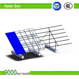 구체적인 편평한 지붕을%s 태양 전지판 설치 구조