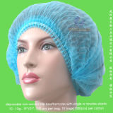 Non-Woven/SMS/Surgical/PP/Mopp/Crimped/Pleated/Strip/Medical wegwerfbare Klipp-Pöbel-Schutzkappe, wegwerfbare pp. Bouffant Cap, wegwerfbare pp.-Krankenschwester-Schutzkappe, wegwerfbarer Doktor Cap