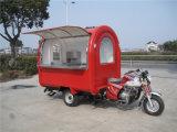 Carros do fast food do triciclo da motocicleta (SHJ-M360)