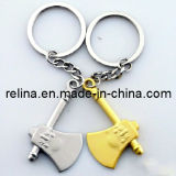 Kundenspezifische Zeichen-Leder-Metallschlüsselring-Schlüsselhalterung (KC-001)