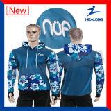 Healong Sportwearの方法完全な昇華物の大学Hoodie