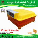 Incubateur automatique marqué d'oeuf de caille de la CE mini (KP-36)
