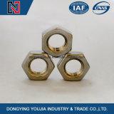 DIN439 육각형 얇은 견과 ISO4035 중국 잠그개 제조