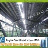 Untergrundbahn-und Bahnstation-Stahlkonstruktion-Gebäude