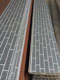 El panel de emparedado compuesto de la PU del ladrillo decorativo de Insualtion del sonido del precio de Resonable