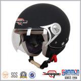 Шлем мотоцикла/мотовелосипеда стороны ECE штейновой черноты открытый (OP228)