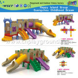 Спортивная площадка скольжения игрушек малышей напольная пластичная для сбывания (HD-W-483)