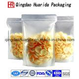 Il di alluminio glassato si leva in piedi in su il sacchetto di plastica di imballaggio per alimenti
