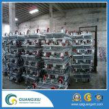 Contenitore della rete metallica con 4 macchine per colata continua