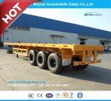 Eixo 3 de 12.5 M do caminhão reboque Flatbed Semi com o trem de aterragem de Jost