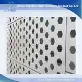 Lamina di metallo esagonale perforata per la decorazione