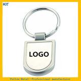 Hartes Enamel mit Printing Processed Slipper Pattern Keychain-Blue