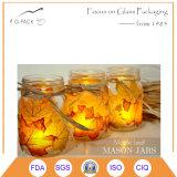 Tarros de cristal claro con mango
