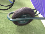 Carrinho de mão de roda plástico da bandeja