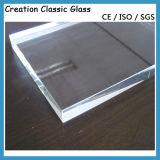 装飾的なガラスのための2-19mmの超明確な緩和されたガラス