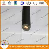 cable de cobre compacto del picovoltio del aislante del conductor XLPE de 600V 2AWG