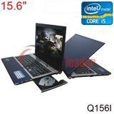 """15.6 """" cahiers du Quarte-Faisceau 2.4GHz du faisceau I7 d'Intel de pouce avec DVD-ROM (Q156I)"""