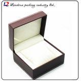 Cadre de mémoire en cuir de luxe d'étalage d'emballage de montre (Sy079)