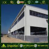 倉庫の鉄骨構造