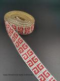Striscia del diamante della maglia di scambio di calore del Rhinestone di Applique della striscia dei cristalli del ferro (strisce Tp-235)