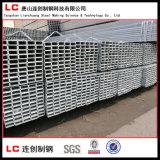 Tubo rectangular/cuadrado de acero Pre-Galvanizado con el galvanizado 120G/M2